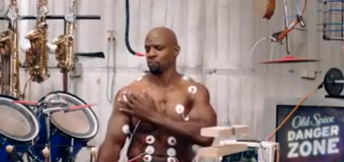 筋肉の動きだけで楽器を演奏する動画