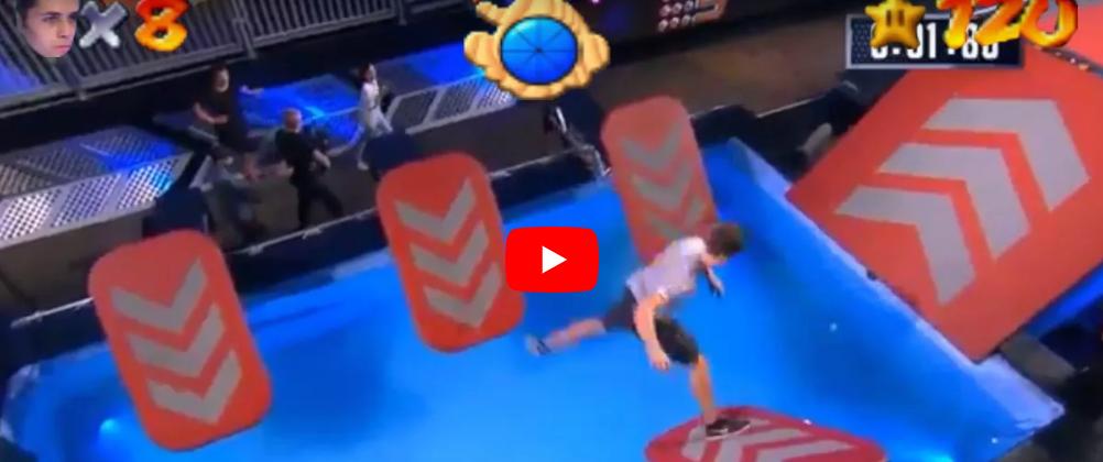 スーパーマリオ64の効果音を付けたらマリオになった動画
